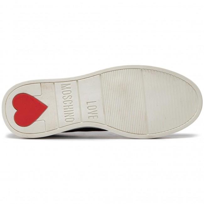 Moschino Sneakers Love Glitter Ja15253g17ii0000 Nero Donna Scarpe Basse k0OwPn
