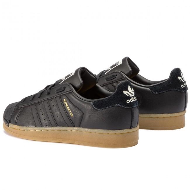 Scarpe adidas Superstar W B37148 CblackCblackGum4