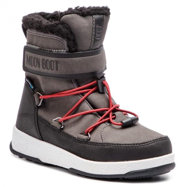 Moon-boot Jr Boy Boot WP Stivali da Neve Bambino