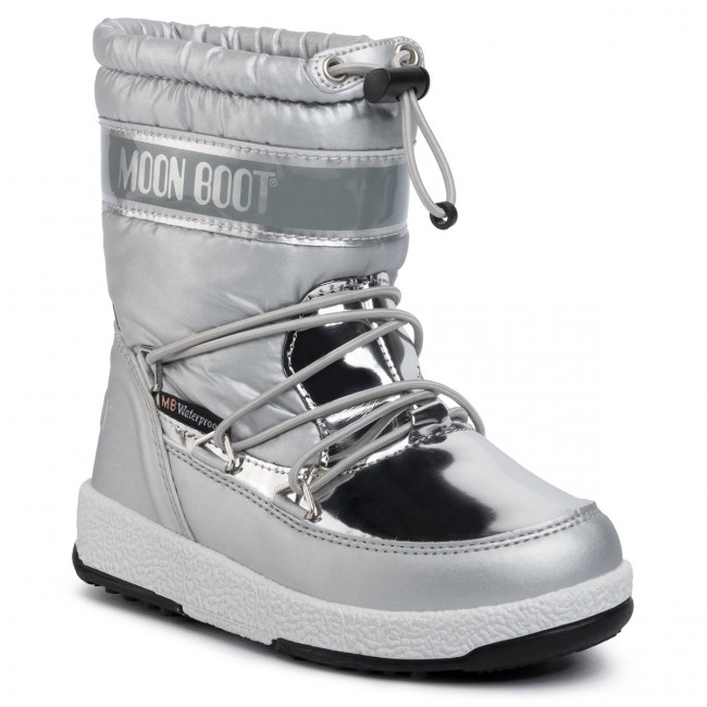 Stivali da neve MOON BOOT - Girl Soft Wp 34051700003 Silver