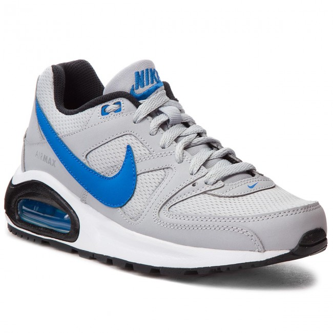 Nike Air Max Command Flex (GS) Wolf Grey Signal Blue Black