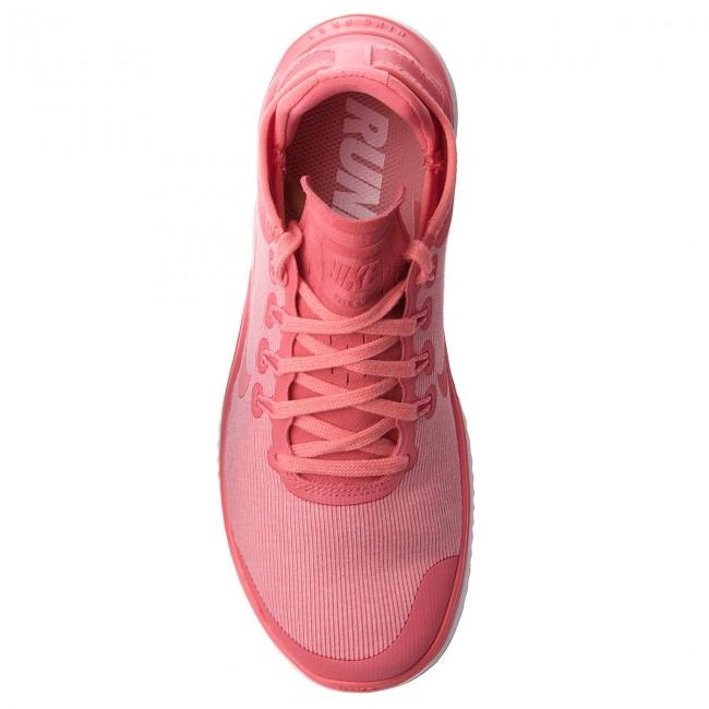 Scarpe NIKE - Free Rn 2018 Sun AH5208 800 Sea Coral/Tropical Pink - Scarpe da allenamento - Running - Scarpe sportive - Donna