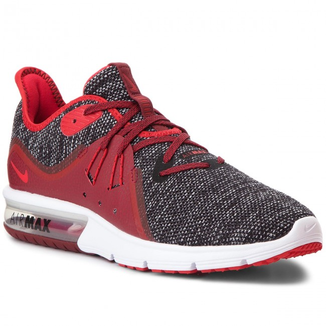 Scarpe NIKE Air Max Sequent 3 921694 015 BlackUniversity RedWhite