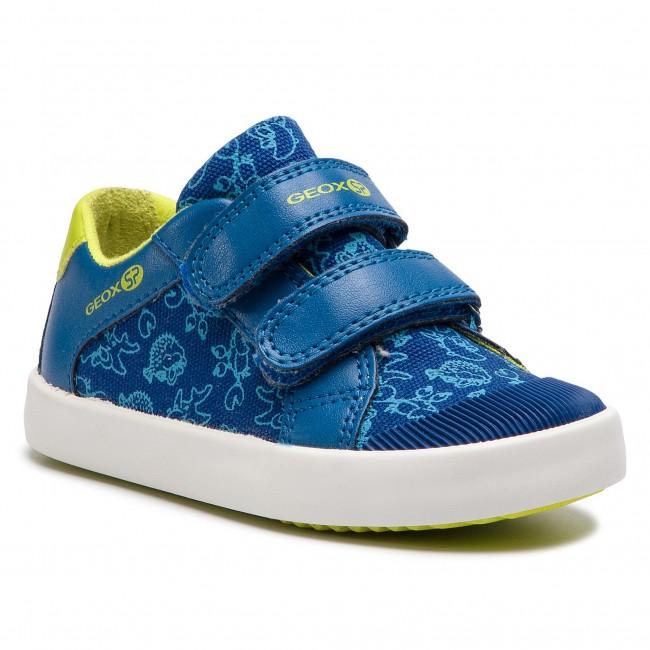 Sneakers GEOX B Gisli B. A B821NA 01054 CK43S S RoyalLime Green