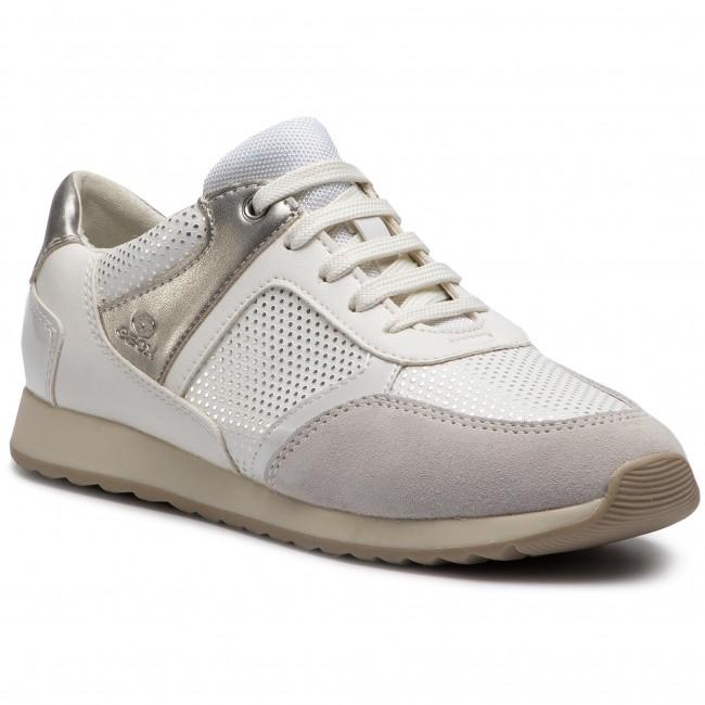 Sneakers GEOX D Deynna C D846FC 00454 C1098 Off WhiteOptic Whit