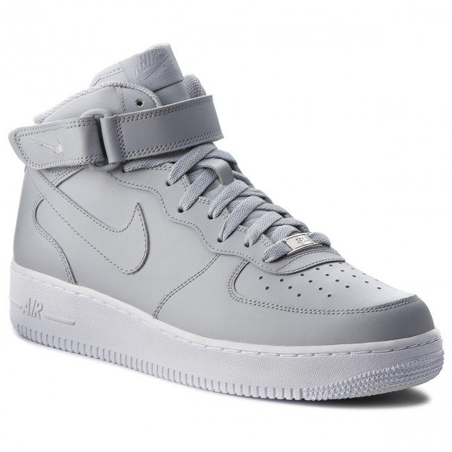 Scarpe NIKE Air Force 1 Mid '07 315123 046 Wolf GreyWolf GreyWhite