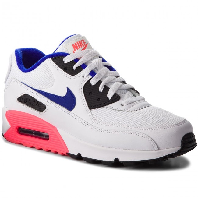 Nike Air Max 90 Essential WhiteUltramarine solar Red Black 537384 136