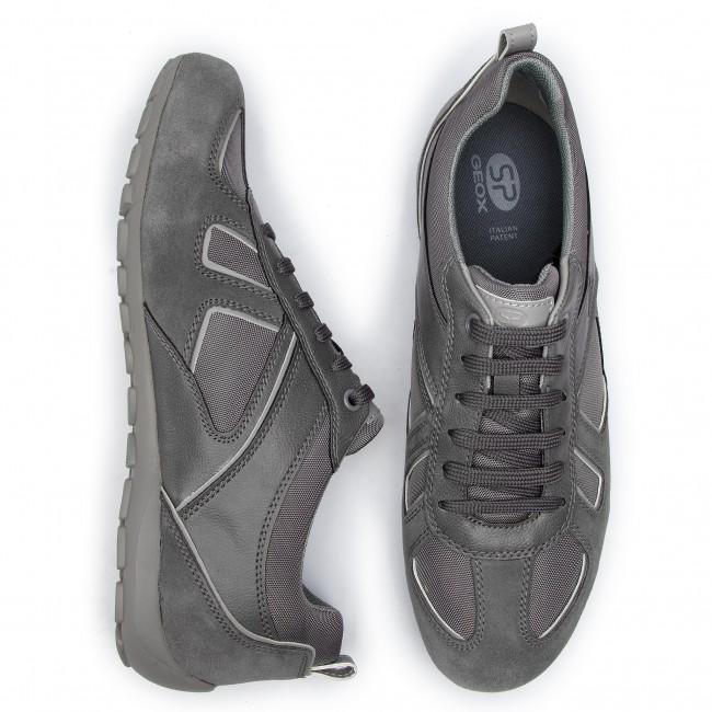 022bc Basse Scarpe U Geox Ravex U923fd Anthracite Uomo C9004 Sneakers D Tl1c3JFK