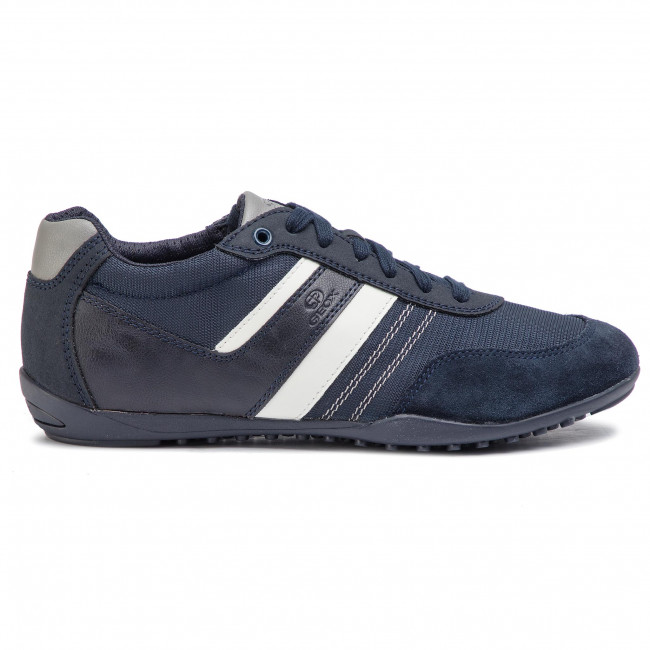 U923gb C4002 U B Geox Garlan 011au Sneakers Uomo Scarpe Navy Basse N8w0mn