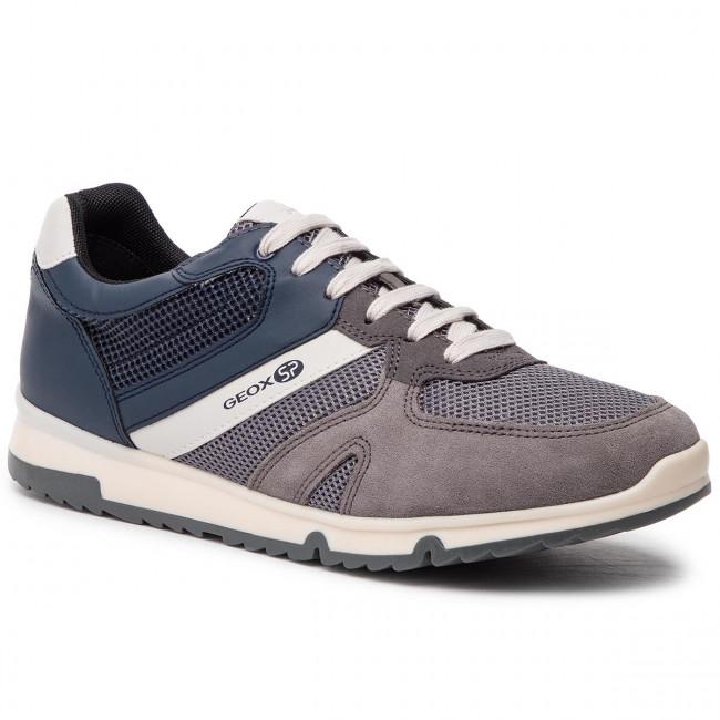 Sneakers GEOX U Wilmer B U923XB 01422 C9AF4 AnthraciteNavy