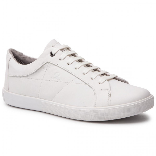 00043 Jharrod White Sneakers Geox C1000 Uomo U Basse A U925ma Scarpe qARjL435