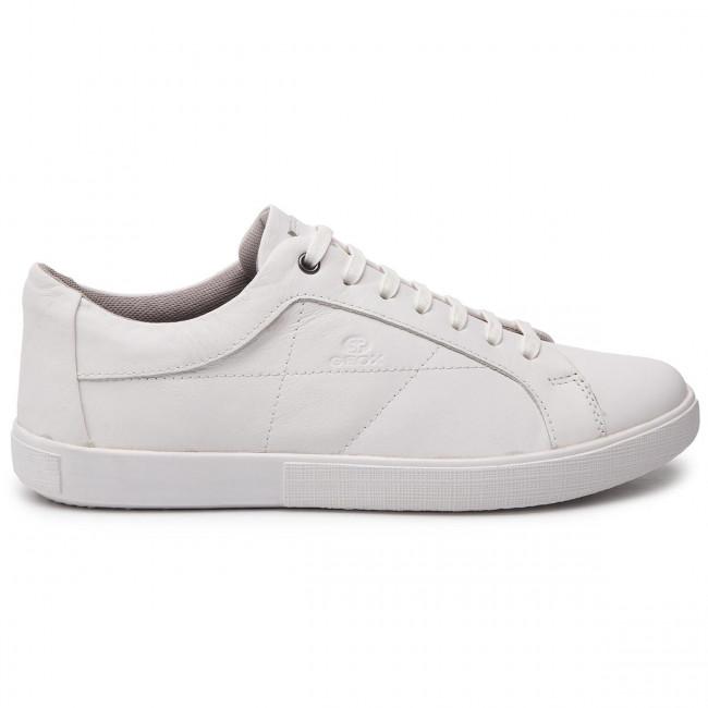 Uomo Jharrod Geox C1000 U925ma U Sneakers Basse 00043 White A Scarpe 5ARL4j
