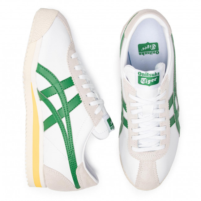 Sneakers ONITSUKA TIGER - Corsair 1183A357 White/Green 101 - Sneakers - Scarpe basse - Donna gwQ3V