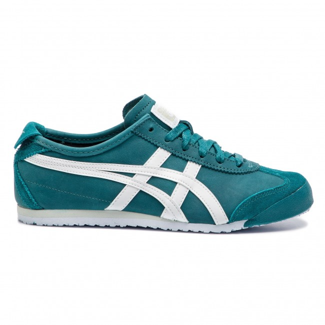 301 66 Sneakers Onitsuka Scarpe Green Basse Asics Mexico Tiger Spruce Donna white 1183a359 5A4jqL3R