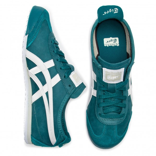 Spruce Green white Basse Tiger Donna 301 Mexico 66 Asics Sneakers Scarpe 1183a359 Onitsuka WIbeED9HY2