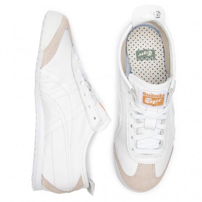 white Onitsuka Basse Donna 66 Scarpe Dl408 White Asics Tiger Mexico Sneakers 0101 srhQtd