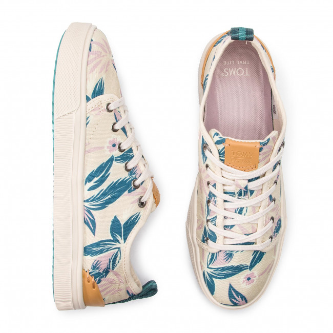 Donna Da Scarpe Basse Lite Ginnastica 10013405 Sportive Floral Toms Lilac Trvl Low mn0wN8