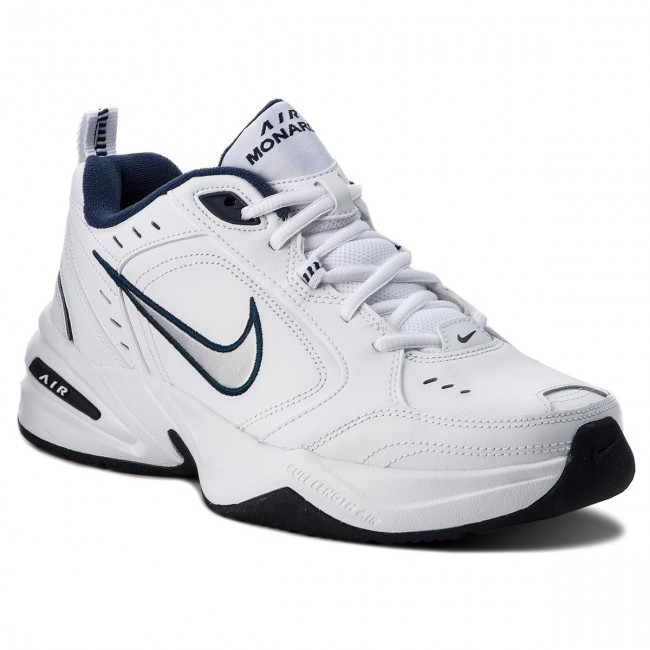 9ea788693ee160 Scarpe NIKE - Air Monarch IV 415445 102 White/Metallic Silver ...