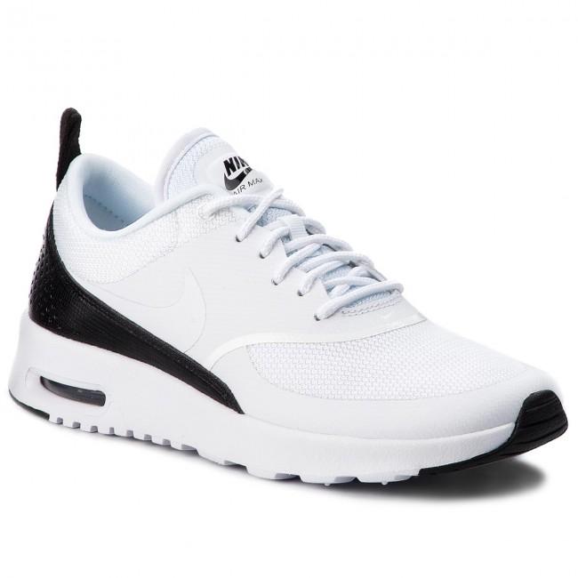 a3b02d4d26ea Scarpe NIKE - Air Max Thea 599409 111 White/White/Black - Sneakers - Scarpe  basse - Donna - escarpe.it