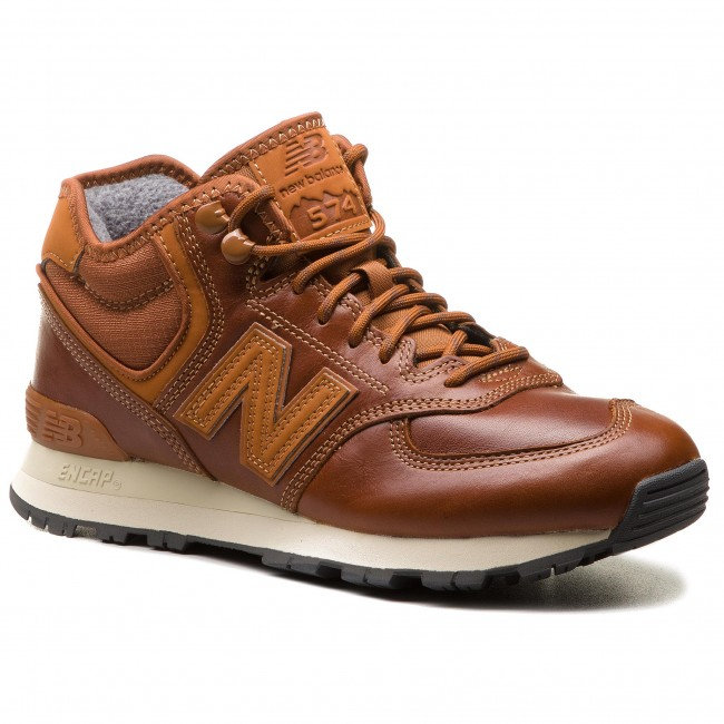 new balance uomo marrone