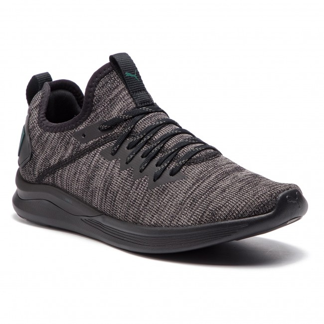 13cf253dc5 Scarpe PUMA - Ignite Flash EvoKnit 190508 20 Black/Dk Grey/Ponderosa Pine