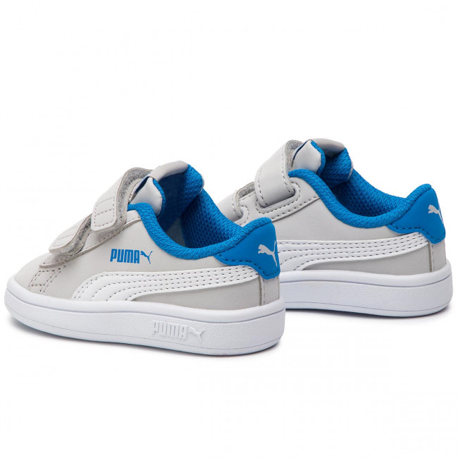 NUOVO Scarpe PUMA Smash v2 Buck Bambini Scarpe Da Ginnastica Sneaker Tempo Libero 365184-08