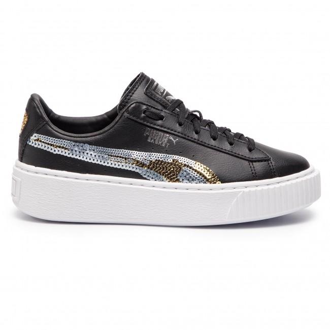 Basse Donna Black puma 03 Scarpe Sqn 369045 Puma Basket Sneakers Jr Gold Trailblazer Team Pltfrm CxQdeoEBWr