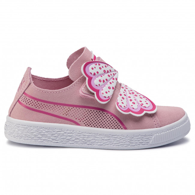 Sneakers PUMA Suede Deconstr. Butterfly V Ps 369090 01 Pale PinkFuchsia Purple