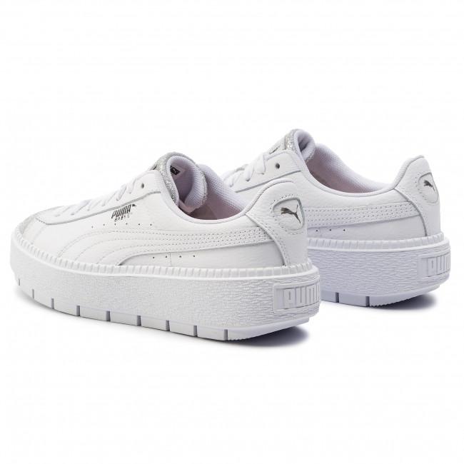 c8a14fd0ae Sneakers PUMA - Platform Trc BioHacking Wn's 369160 01 Puma White/Puma  Silver