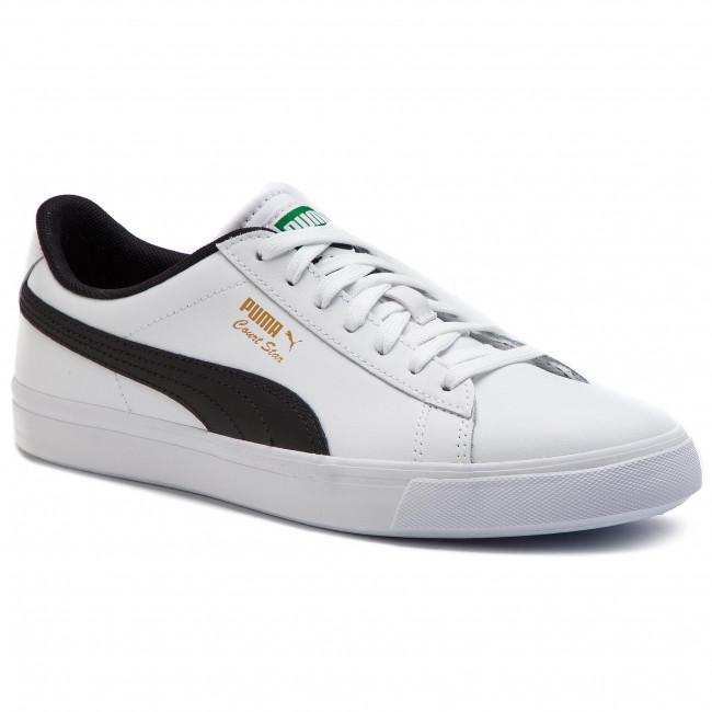 369287 02 Blkpuma Sneakers Puma Whtpuma Court Star Vulc Fs