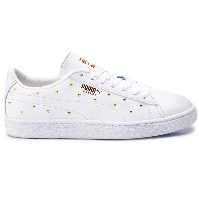 Sneakers PUMA Basket Studs Wn's 369298 01 Puma WhitePuma Team Gold