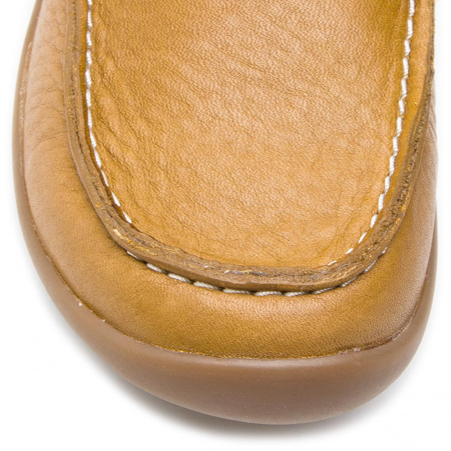 Basse 261424837 Clarks Leather Bambino on Scarpe Slip Mocassini K Tan Artiststride Lq3j5AR4