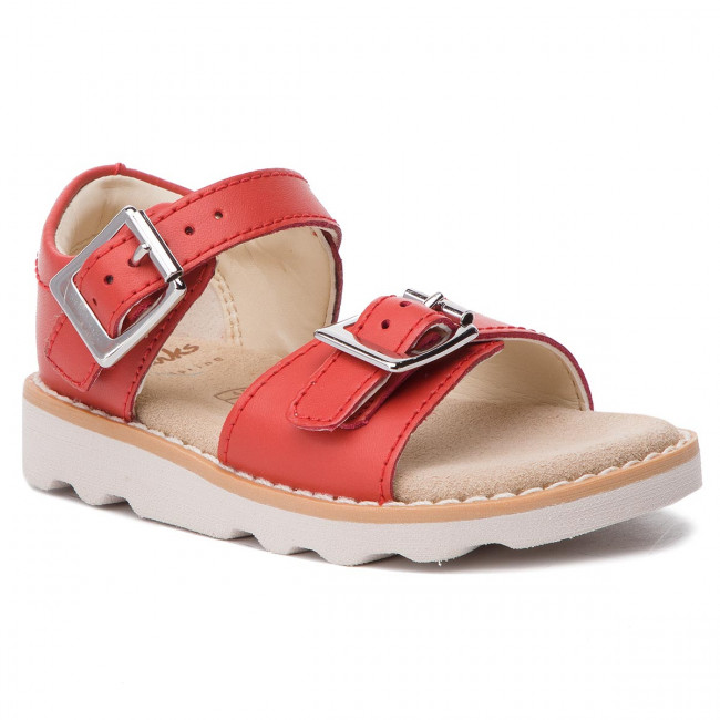 Bambina Leather Ciabatte Coral Clarks 261411276 Bambino T E Sandali Bloom Crown UzVjMGSLpq