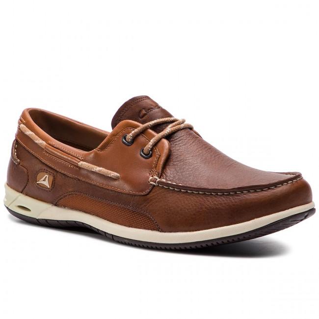 Mocassini CLARKS Orson Harbour 203575817 Brown Leather