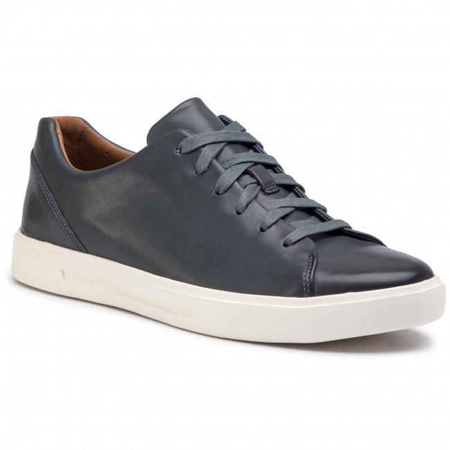 UN Globe Lace  Clarks  sneakers basse  uomo  grigio