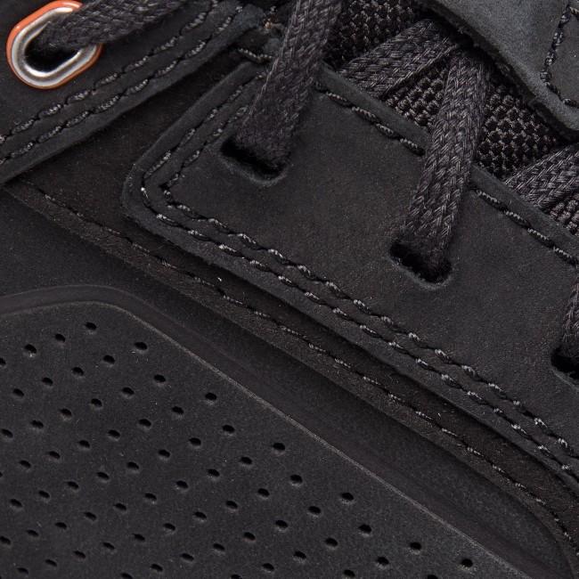 Sneakers CLARKS - Un Trail Form 261409787 Black Nubuck - Sneakers - Scarpe basse - Uomo