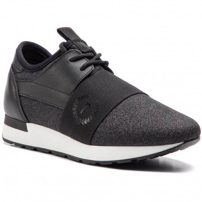 eda72b492c2512 Sneakers POLLINI - SA15053G17T4100A Nero - Sneakers - Scarpe basse - Donna  - escarpe.it