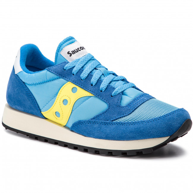 new arrival 582b4 19656 Sneakers SAUCONY - Jazz Orginal Vintage S70368-46 Blue/Yellow