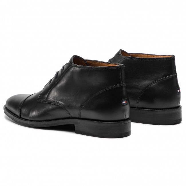 Tommy Hilfiger Essential Leather Boot, Scarpe Stringate