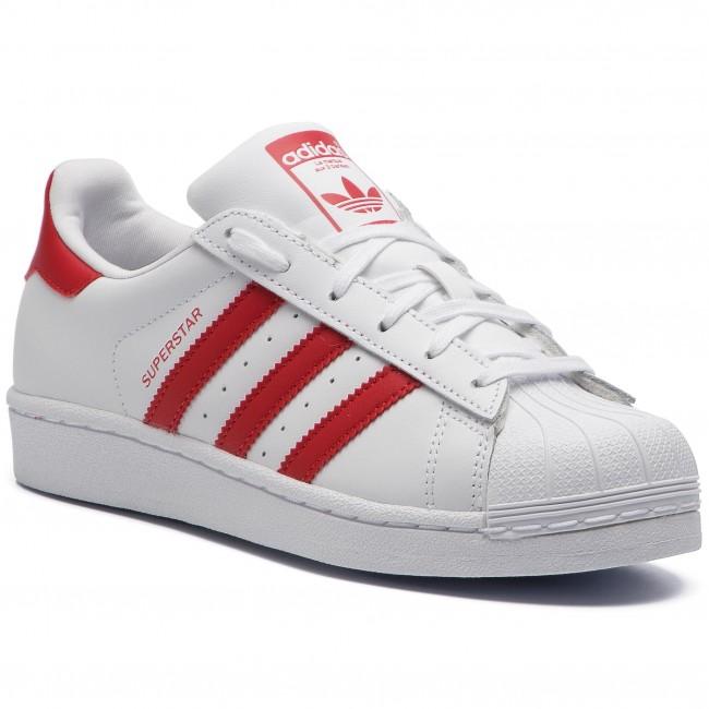 Superstar Adidas Donna Ftwwht Scarpe scarle Basse Sneakers Cg6609 scarle J uZiPkOX