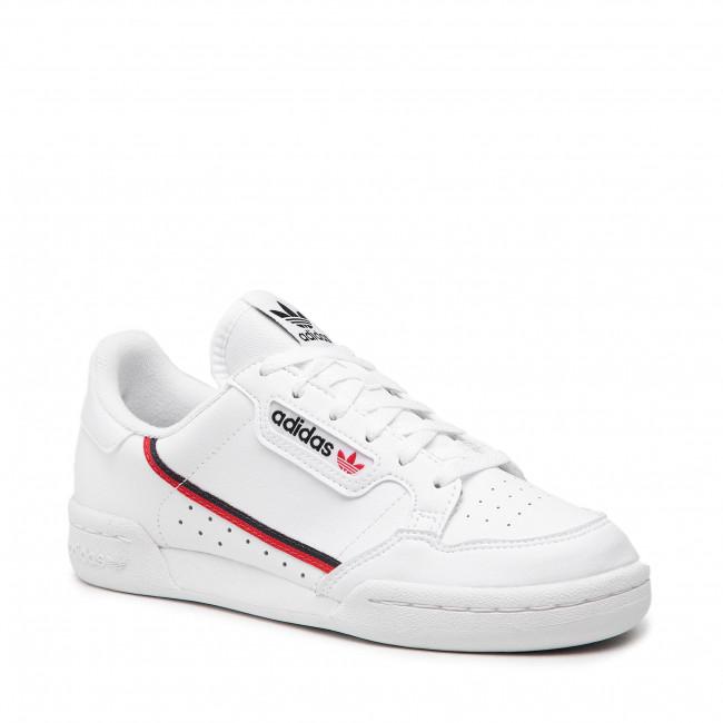 Scarpe adidas - Continental 80 J F99787 Ftwht/Scarle/Conavy