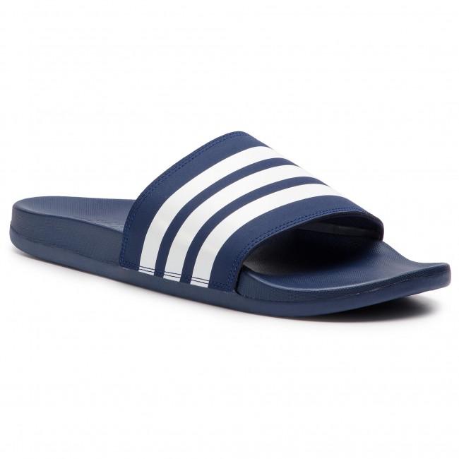 Ciabatte adidas - adilette Comfort B42114 Dk Blue/Ftwwht/Dk Blue