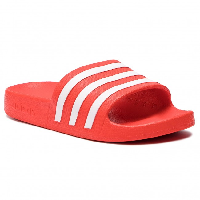 Ciabatte adidas - adilette Aqua F35540 Actred/Ftwwht/Actred