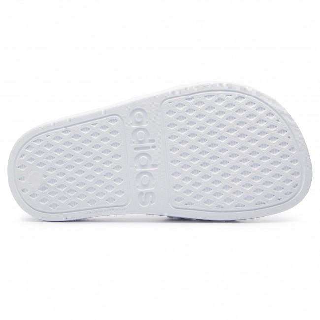 Ciabatte adidas - adilette Aqua K F35555 Ftwwht/Silvmt/Ftwwht - Ciabatte - Ciabatte e sandali - Bambina - Bambino