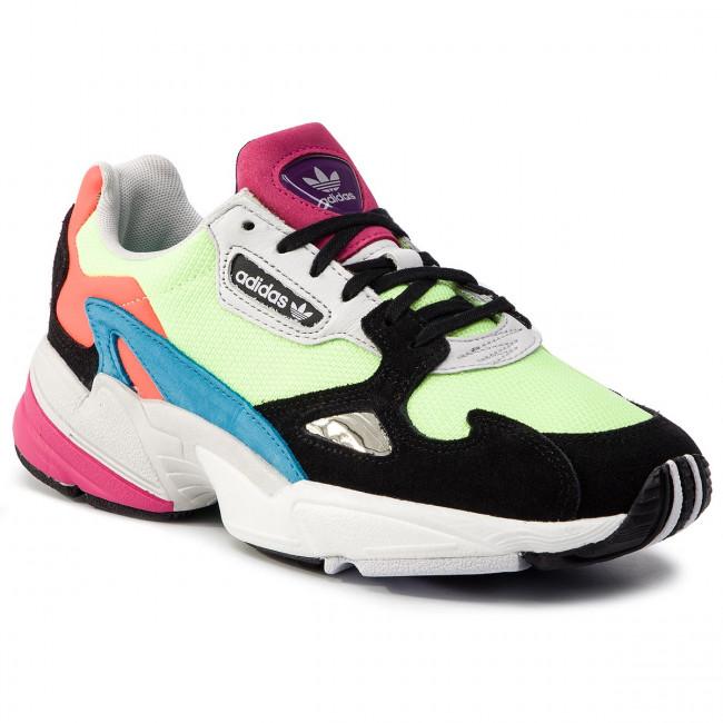 ff5edeb33baadc Scarpe adidas - Falcon W CG6210 Hireye/Hireye/Cblack - Sneakers ...