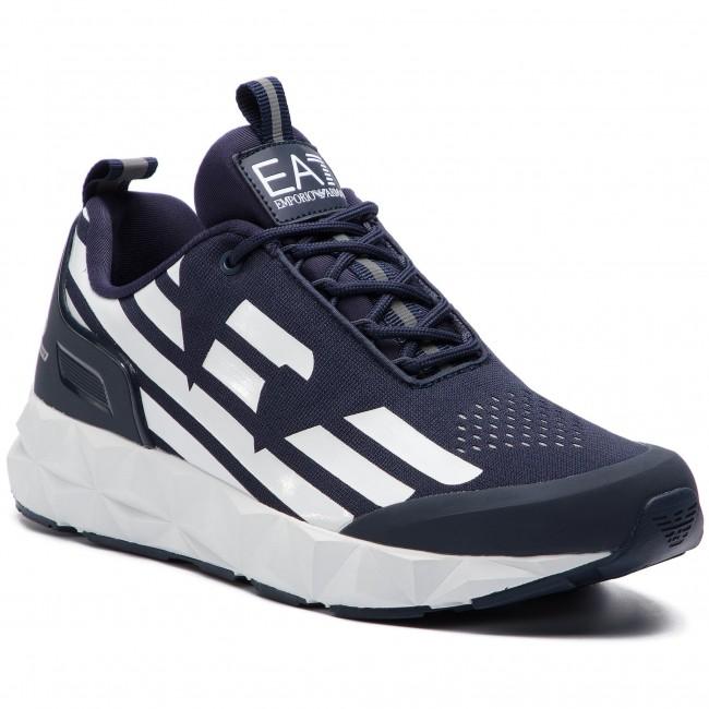 Basse Xcc52 Uomo Ea7 X8x033 white Armani Emporio Sneakers D813 Navy Scarpe 6Ybf7gyv