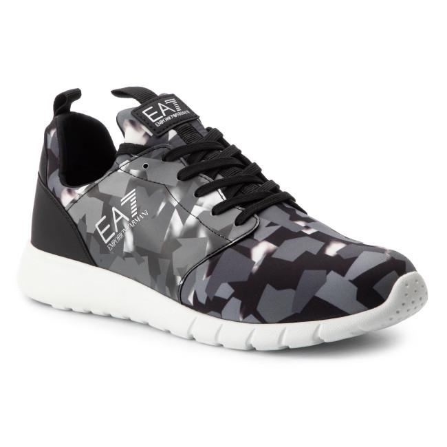 d37676d3a2 Sneakers EA7 EMPORIO ARMANI - X8X007 XK048 00969 Camo Black/Grey