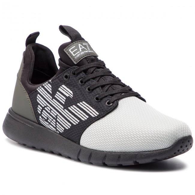 560bc2591d Sneakers EA7 EMPORIO ARMANI - X8X007 XCC02 K086 Grey Tri Tonal