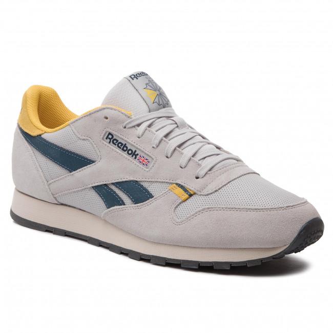 d3a301f44d Scarpe Reebok - Cl Leather Mu CN7177 Steel/Yellow/Blue/Grey