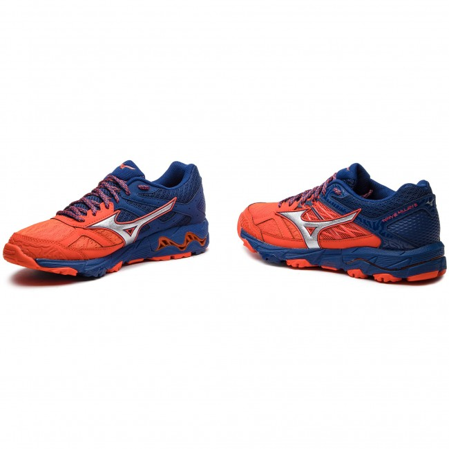 Scarpe MIZUNO Wave Mujin 5 J1GJ187003 Arancione Blu scuro